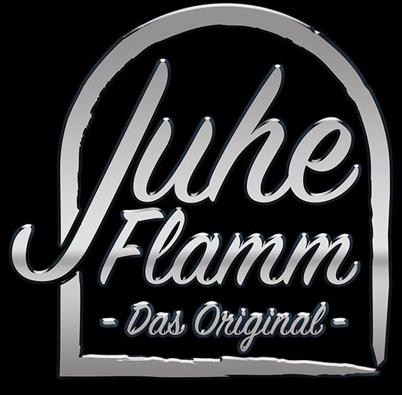 Juhe Flamm Logo silber